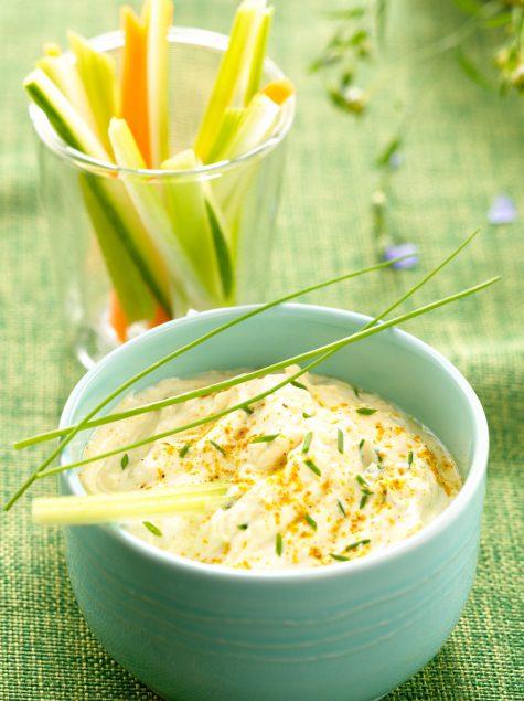 Salsa fría perfumada especial para verduras fresca