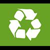 Los envases se fabrican en parte con cartón reciclado y reciclable