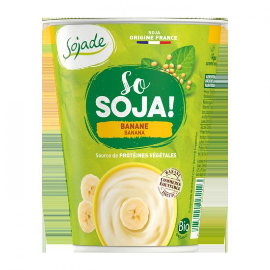 Sojade especialidad de soja – Plátano