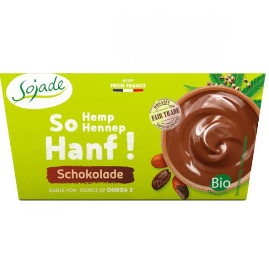 Sojade especialidad biológica de cáñamo – Chocolate