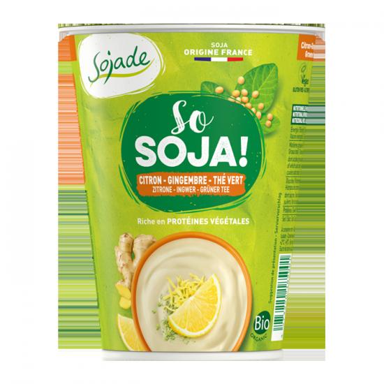 Sojade especialidad de soja – Limon, Jengibre y Té verde